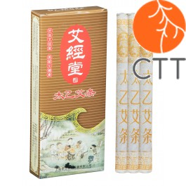Cigare de moxa Tai Yi Ø 1.5 x 21 cm, 10pce/Box