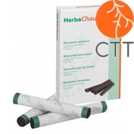 HerbaChaud Cigare Moxa Sans Fumée Ø 1.5 x 12cm, 5pcs./Box