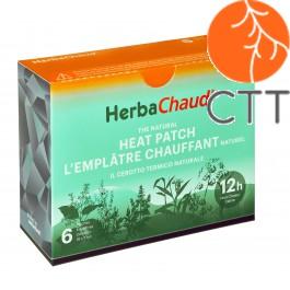 HerbaChaud® emplâtre chauffant naturel, box à 6 empl.