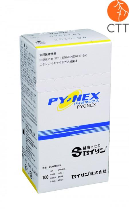 SEIRIN New Pyonex aiguille permanente pour le corps et l'oreille, 100 pcs