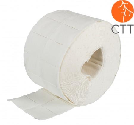 PUR ZELLIN tampons en cellulose de 4x5cm non stériles, rouleaux de 500pcs