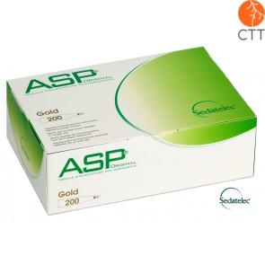 ASP GOLD Aiguilles 200 pcs/boîte de Sedatelec