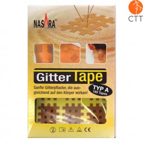 cross tape beige 2cm x 3cm
