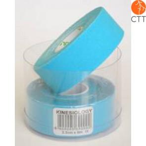 bandes de NASARA®, bleu, 2.5cm x 5m, étroit