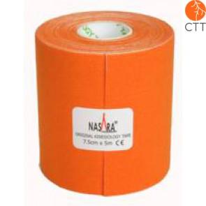 bandes de NASARA®, orange, 7.5cm x 5m, extra large