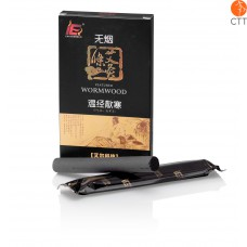 HUASUN Moxa stick, moxa à faible dégagement de fumée Ø 1.5 x 12cm, 5pcs par boîte