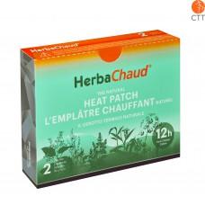 HerbaChaud® emplâtre chauffant naturel, box à 2 emplâtres