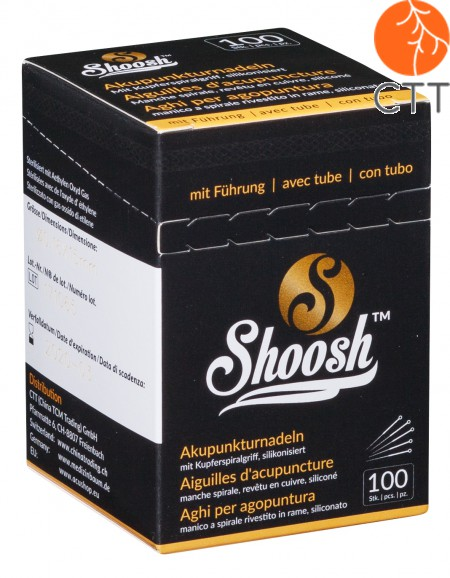 SHOOSH painfree copper coated needle, with tube