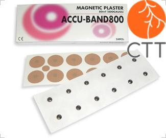 ACCU BAND magnetic needles, 800 Gauss, 24 pcs, steel