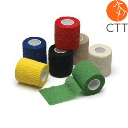HerbaChaud Flex - 2.5cm x 4.5m cohesive, elastic, tearable adhesive tape for fix