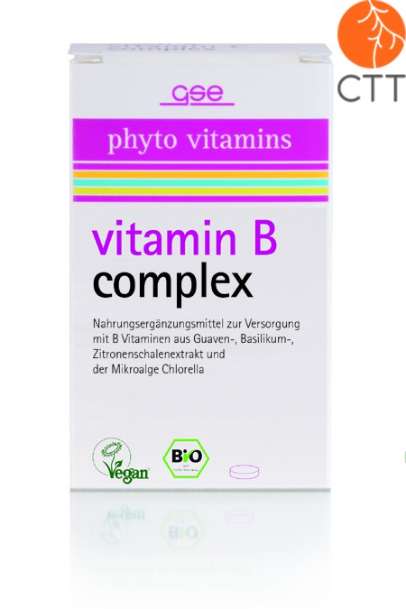 Vitamin B Complex (Bio), 60 Tbl. à 500mg (30g)