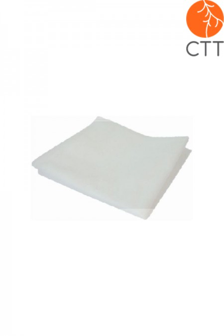 Single use disposable non-woven material bed sheet, 20 pcs, 80cm x 182cm, with nose slit