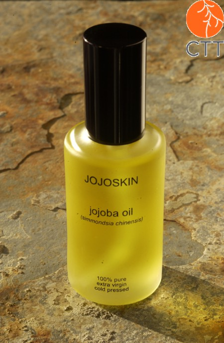 JojoSkin 100 percent pure and natural organic Jojoba Oil , bottle with 60ml