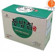 DONGBANG spring handle needle, 5 pcs + 1 tube per blister, 500pcs/box