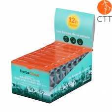 HerbaChaud patches therapist box