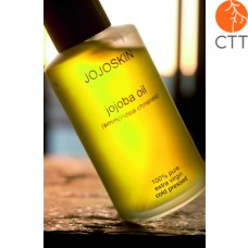 JojoSkin Jojoba Oil 100% pure   natural, 1 bottle w. 60ml