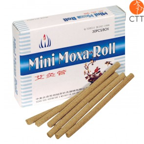 moxa rolls for tigerwarmer, high quality, 5mm x 80 mm, 50 pcs per box
