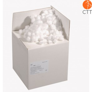 Cotton balls, small, 100% cotton, 15/20mm, 1000 pcs