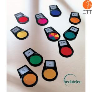 Sedatelec,  8 colours frequentiel after Paul Nogier, PCFPN