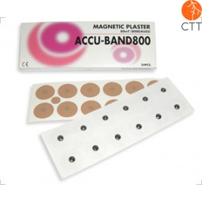 ACCU BAND magnetic needles, 800 Gauss, 24 pcs, steel
