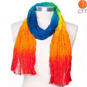 Silk scarf SUMMERDAY, 100% natural silk from India