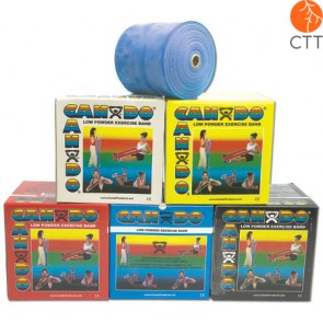 Cando Exercise tape, 46m x 12,7 cm, blue