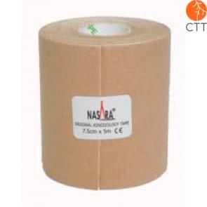 NASARA® Tape, skin colour, 7.5cm x 5m, extra large