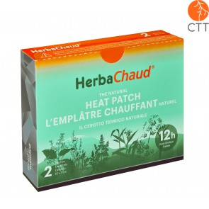 HerbaChaud® natural heating patches, box with 2 patches