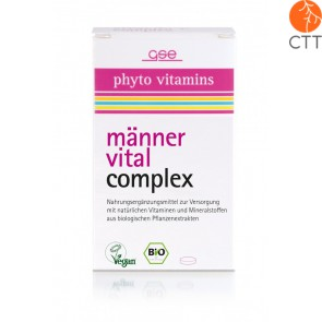 Men Vital Complex, organic, 60 tablets à 500mg (30g)