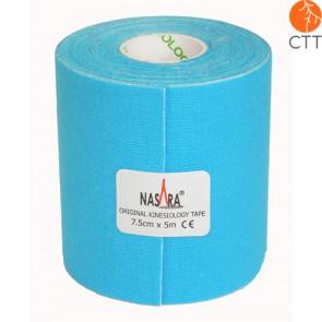 NASARA® Tape, blue, 7.5cm x 5m, extra large