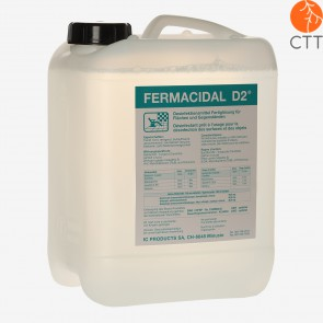 Fermacidal 5 litre canister for rapid disinfection of surfaces and instruments