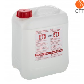 MANOFERM skin and hand disinfectant without alcohol, 10 litres,