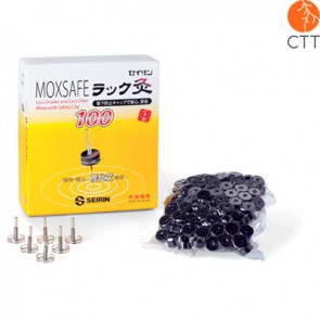 MOXSAFE from SEIRIN, refill with 100 moxa cones and 5 holder