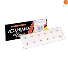 ACCU BAND ear & body magnetic needles, 800 Gauss, 24 pcs,, gold