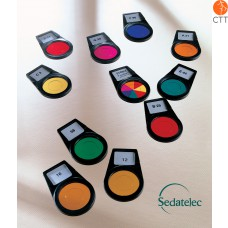 Sedatelec,  8 colours frequentiel after Paul Nogier, PCFPN