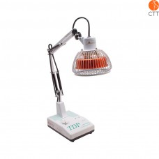 TDP table lamp model CQ12, head with mineral plate, manual timer