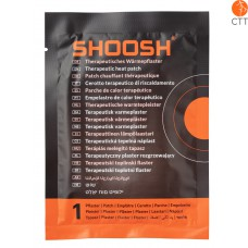 SHOOSH Therapeutic heat patch - box with 4 patches TOP