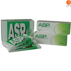 ASP Ear press needle TEST BOX STEEL/TITANIUM/GOLD 8 pcs