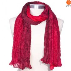 Silk scarf VULCANO, 100% natural silk from India