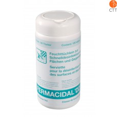 FERMACIDAL disinfectant wipes box including towels