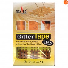 Nasara cross tape mash type, skin colour 2cm x 3cm