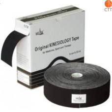 NASARA® kinesio tape, black, 5cm x 32m, clinical use