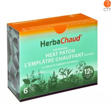 HerbaChaud® natural heating patch, box with 6 patches