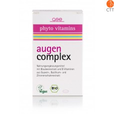 BIO organic eye complex 60 pills, each 520mg