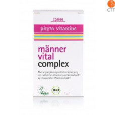 Men Vital Complex, organic, 60 tablets à 500mg (30g)